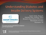 Understanding Diabetes and Insulin Delivery Systems - Free CE ...