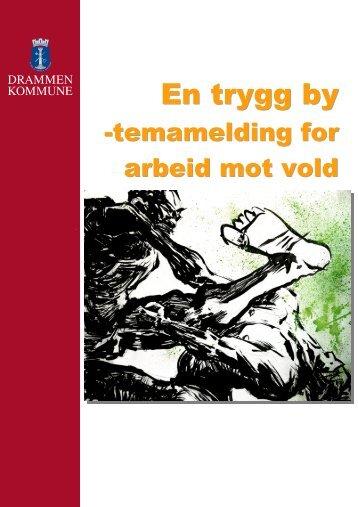 Temaplan for arbeid mot vold - Drammen kommune