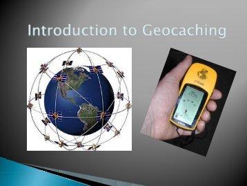 Intro to Geocaching (Jim Stiehl) - CCEPE