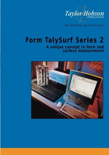 Form TalySurf Series 2