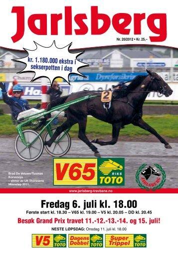 pdf-program - Jarlsberg Travbane