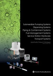 Submersible Pumping Systems Dispensing Systems Piping ...