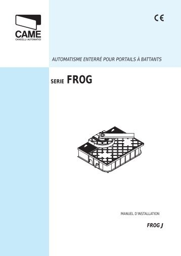 SERIE FROG FROG J - Automatisme came.com