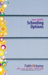 Your Child's Schooling Options - Waynesboro Otterbein Church