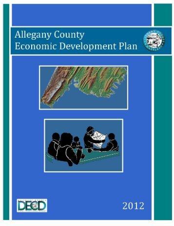 Allegany County Economic Development Plan 2012