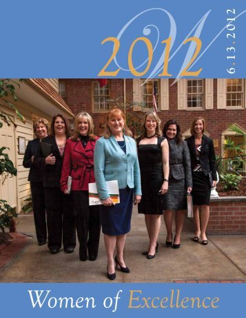 Women of Excellence - Albany Colonie Regional Chamber of ...