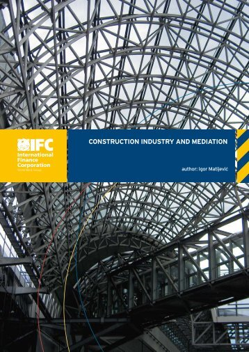 Construction Industry and Mediation (2008) - Investment Climate