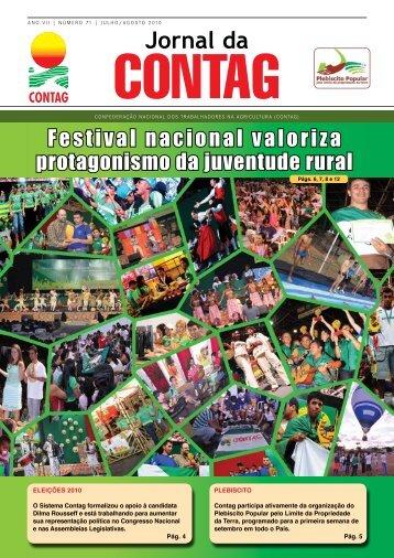 Festival nacional valoriza protagonismo da juventude rural - Contag