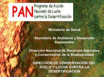 Objetivos - Secretaria de Ambiente y Desarrollo Sustentable