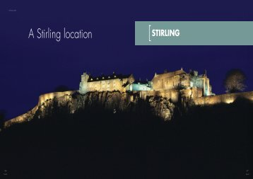 A Stirling location - World Class Scotland
