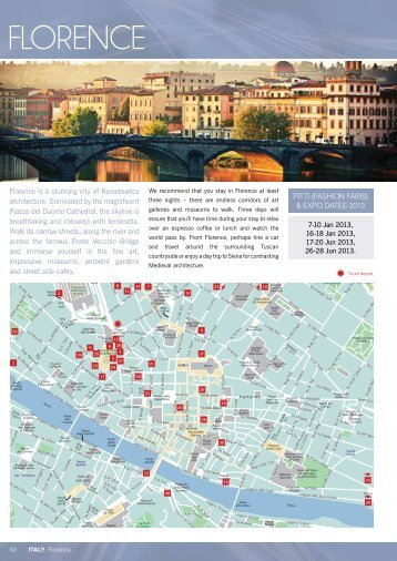 Page 1 50 ITALY Florence 7-10 Jan 2013, 16-18 Jan 2013, 17-20 ...