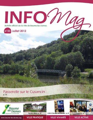 Info Mag n°23 - Baume-les-Dames