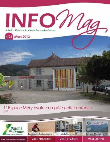 Info Mag n°25 - Baume-les-Dames