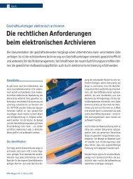 Artikel lesen (129 KB) - IT & LAW Consulting GmbH