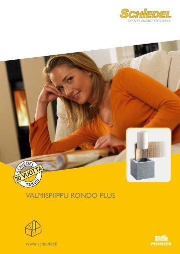 Rondo Plus tuote-esite - Schiedel