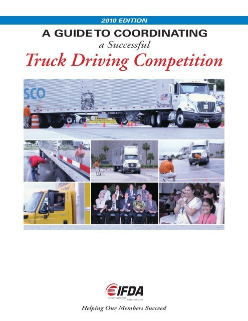 Guide To Coordinating A Successful Truck Driving Competition