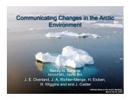 Download PDF (2.3 MB) - State of the Arctic 2010