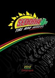 Sedona 2012 offline catalogue - McLeod Accessories