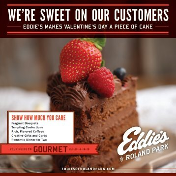 WE'RE SWEET ON OUR CUSTOMERS - Eddies of Roland Park