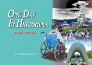 One Day in Hiroshima: An Oral History - International Physicians for ...