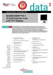 SCENICVIEW P19-1 19 Zoll Premium Line LCD TFT Display