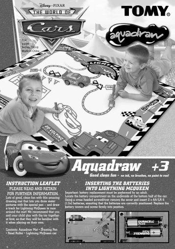 Aquadraw - Tomy