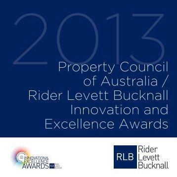 Download the awards book - Rider Levett Bucknall
