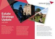 new Estate Strategy Update - Edinburgh Napier University