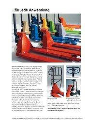 BTH 016 Brochure DE - Gabelstapler-Service Wolfgang Osterloh