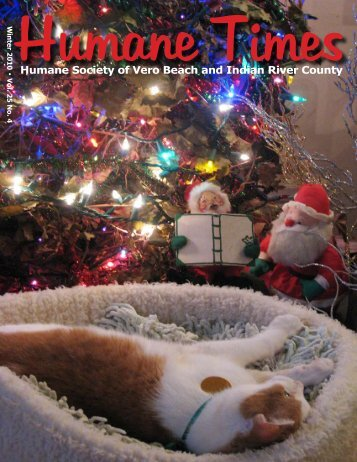Winter Edition - Humane Society of Vero Beach & Indian River County