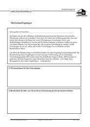 HERZOGSÄGMÜHLE Motivationsfragebogen