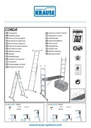 Page 1 Imstœ CORDA' Leitergerüst @lo Scaffold ladder @e ...