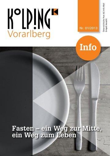 Zeitung 01/2013 - Kolpingsfamilie Dornbirn