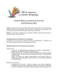 COMPTE RENDU DU COMITE DE PILOTAGE JEUDI 05 ... - Fregif