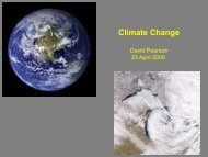 Overview of Climate Change Mitigation and Impacts/Adaptation