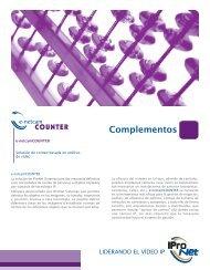Información e-netcamCOUNTER - IProNet Sistemas