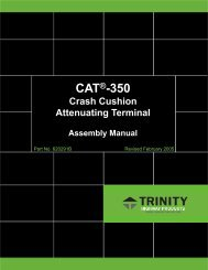 Installation Instructions - Trinity Highway Products, LLC