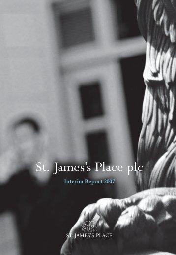 Interim Report 2007 - St James's Place