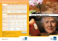 G6925 GERFLOR - CARE HOME SOLUTIONS BROCHURE V2