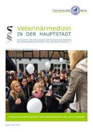 Heft 2013 - Fachbereich Veterinärmedizin an der Freien Universität ...