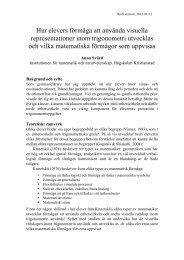 Hur elevers förmåga att använda visuella representationer inom ...