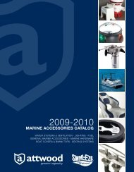 MARINE ACCESSORIES CATALOG - Attwood