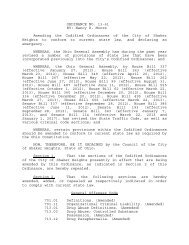 Ordinance No. 13-61 - City of Shaker Heights