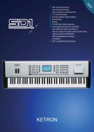 KETRON SD1 PLUS depl. A4 AV