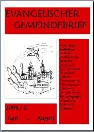 Juni - August 2009 - Unterringingen