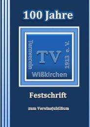 Titelseite - Turnverein-Wißkirchen 1913 ev