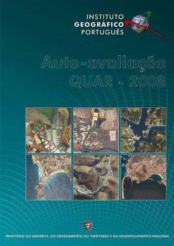 Relatório de Autoavaliação Quar - 2008 - Instituto Geográfico ...