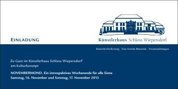 Programm (PDF) - am KULTURKONZEPT