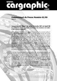 02/09 Souveraineté dans l'air pour Porsche 977 et Audi ... - Cargraphic