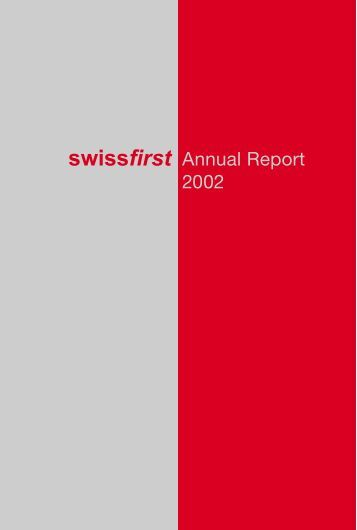 Annual Report 2002 - Bellevue Group